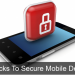 7 Tricks to Secure Your Smartphone Devices
