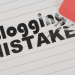 50 Big Blogging Mistakes Most Beginner Bloggers Make