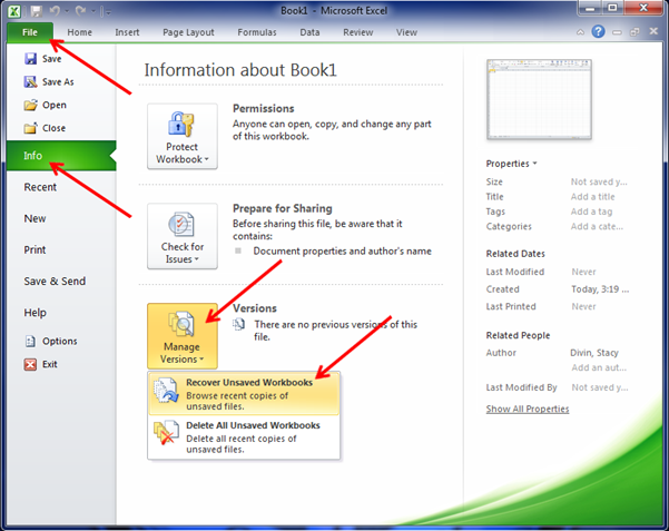 how to get back unsaved word document 2007