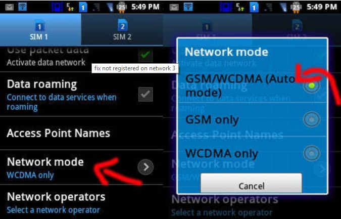 Trick To Fix Not Registered on Network Problem on Android | Techy Ways
