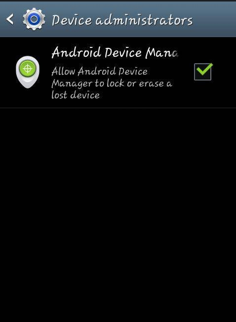Find your stolen android phone