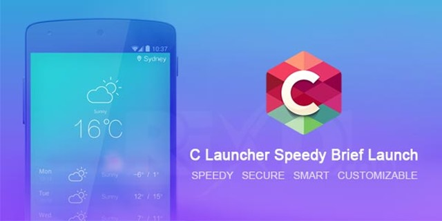 c-launcher-speedy-brief-launch - Best Android Launcher