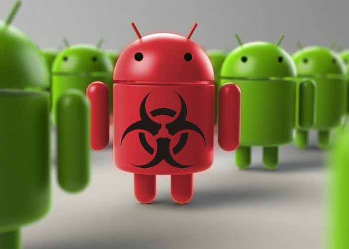 Android Smartphone infected