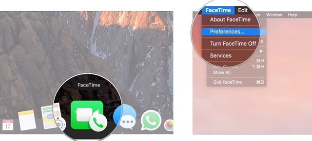email address to call from in FaceTime 1