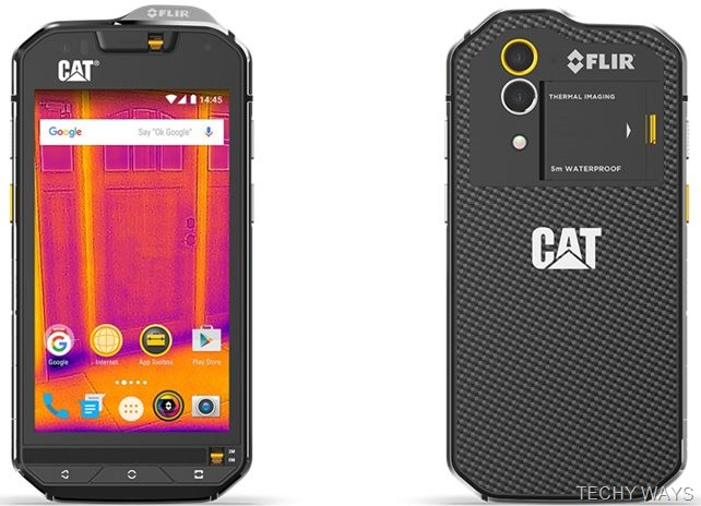 CAT S60 wih FLIR Thermal Camera