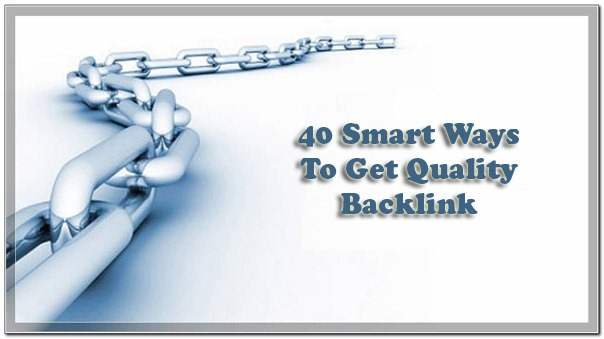 Get Quality Backlink